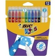 ROTULADOR  BORRABLE KIDS COLOUR AND ERASE 12U SURTIDOS