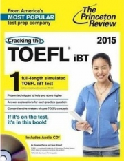 CRACKING THE TOEFL IBT WITH AUDIO CD, 2015 EDITION (PAPER ORIGINAL)