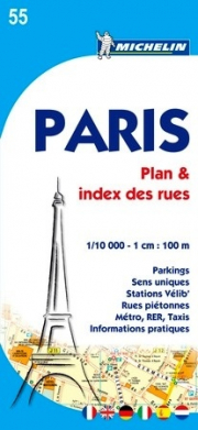 PARIS PLAN & INDEX DES RUES