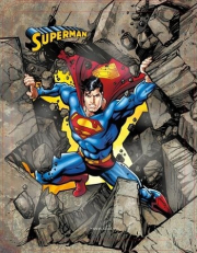 SUPERMAN. CAJA METALICA