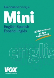 DICCIONARIO MINI ENGLISH-SPANISH / ESPAÑOL-INGLÉS
