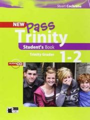 NEW PASS TRINITY STUDENT'S BOOK ( TRINIT GRADES 1-2 )  ** BLACK CAT **